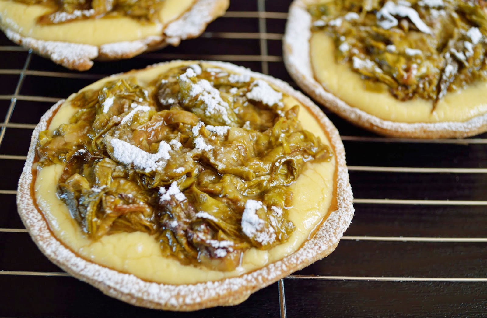 Japanese Knotweed Tarts